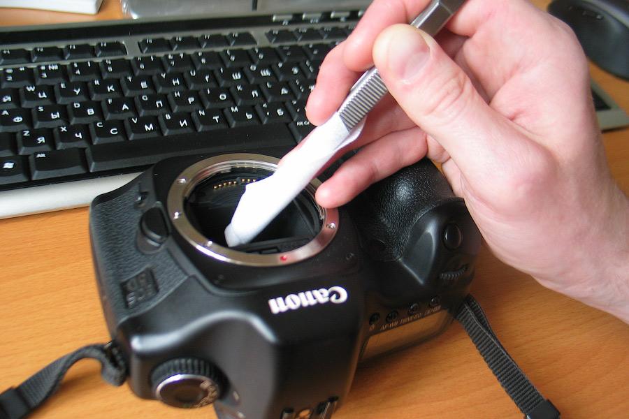 как помыть матрицу фотоаппарата статье расскажем все