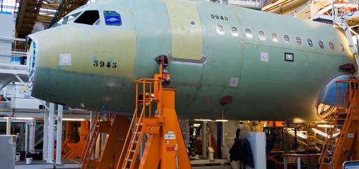 Сборочное производство AIRBUS в Тулузе