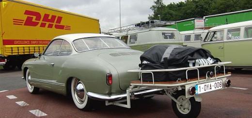 Одноколёсный прицеп для легкового автомобиля