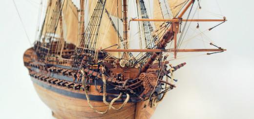 Мастерская по производству моделей кораблей из ценных пород дерева