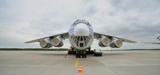 Как устроен самолет Ил-76ТД-90ВД