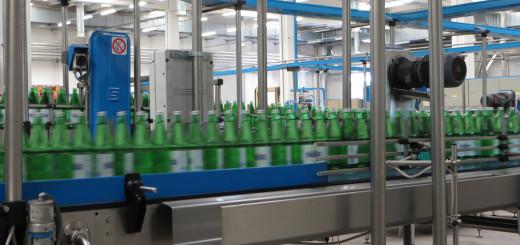 Производство минеральной воды Fiuggi в Италии