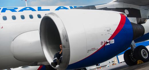 Как принимают самолеты