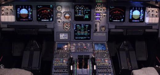 Как устроена кабина самолета Airbus-320