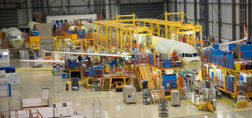 Как собирают самолеты Airbus в Гамбурге